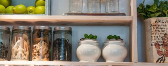 kitchen clutter